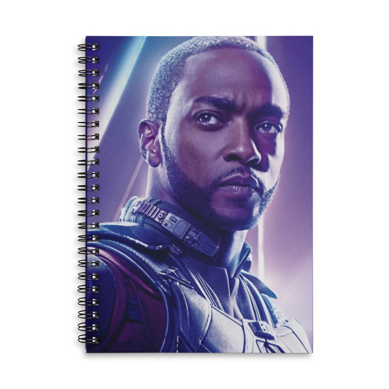 Falcon Accessories Lined Spiral Notebook by Evolution Comics INC
