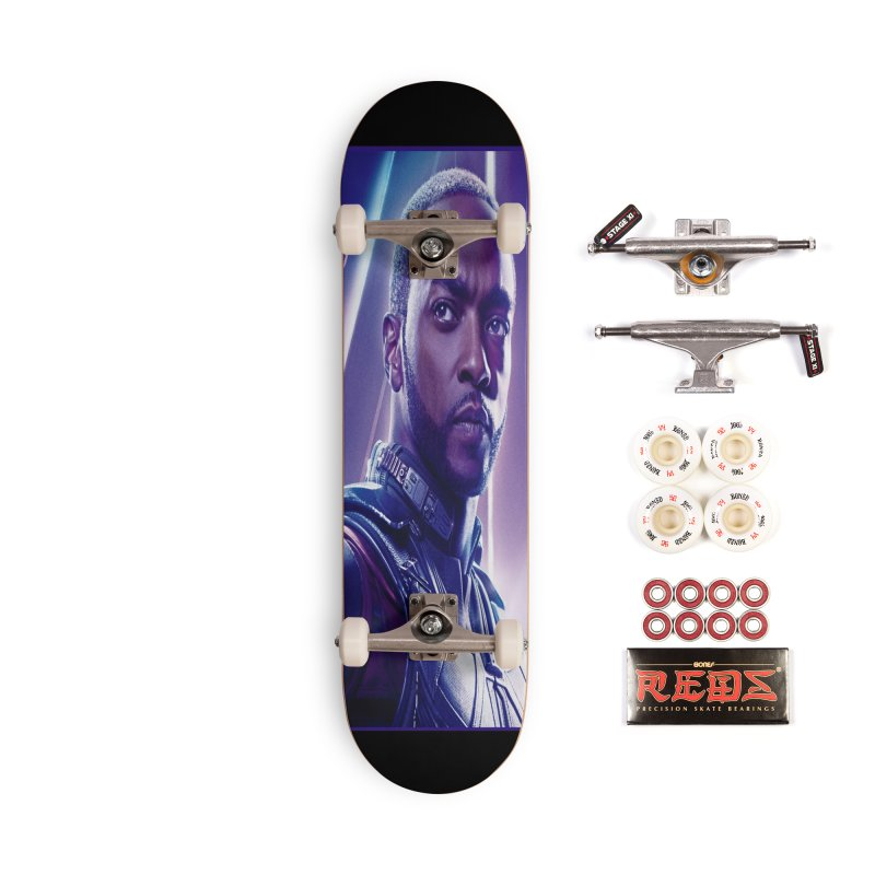 Falcon Accessories Complete - Pro Skateboard by Evolution Comics INC