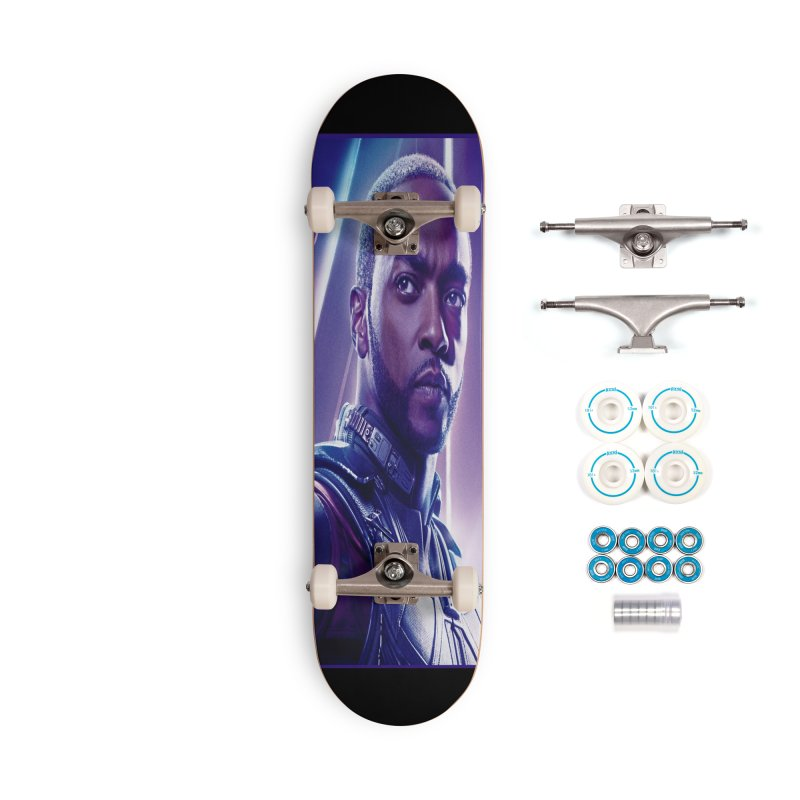 Falcon Accessories Complete - Basic Skateboard by Evolution Comics INC