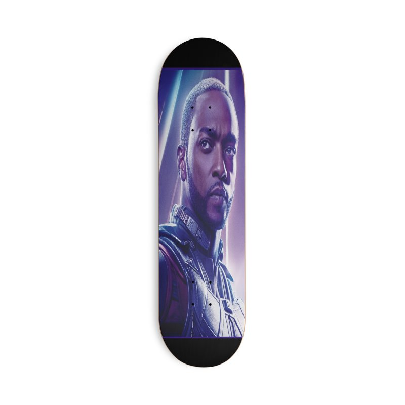 Falcon Accessories Deck Only Skateboard by Evolution Comics INC
