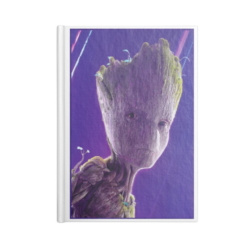 Groot (Teen) Accessories Lined Journal Notebook by Evolution Comics INC