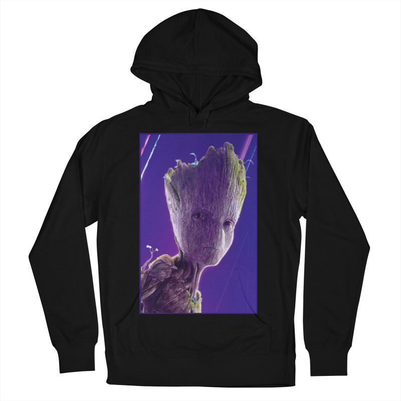Groot (Teen) Men's French Terry Pullover Hoody by Evolution Comics INC