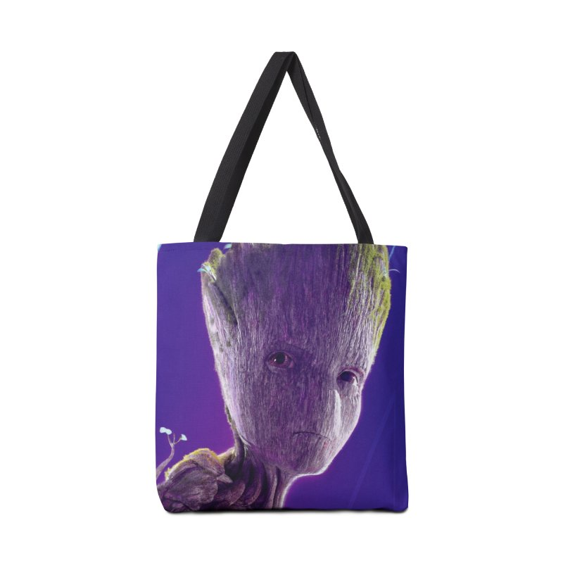 Groot (Teen) Accessories Tote Bag Bag by Evolution Comics INC