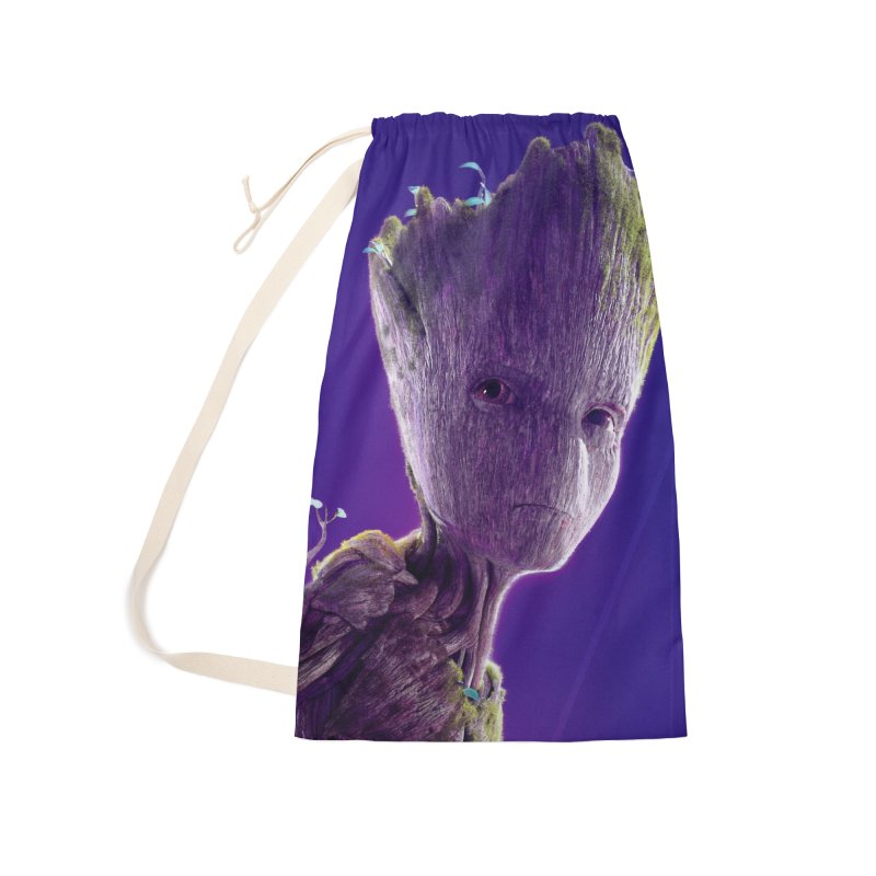 Groot (Teen) Accessories Laundry Bag Bag by Evolution Comics INC