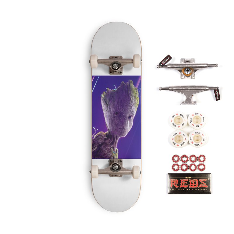 Groot (Teen) Accessories Complete - Pro Skateboard by Evolution Comics INC