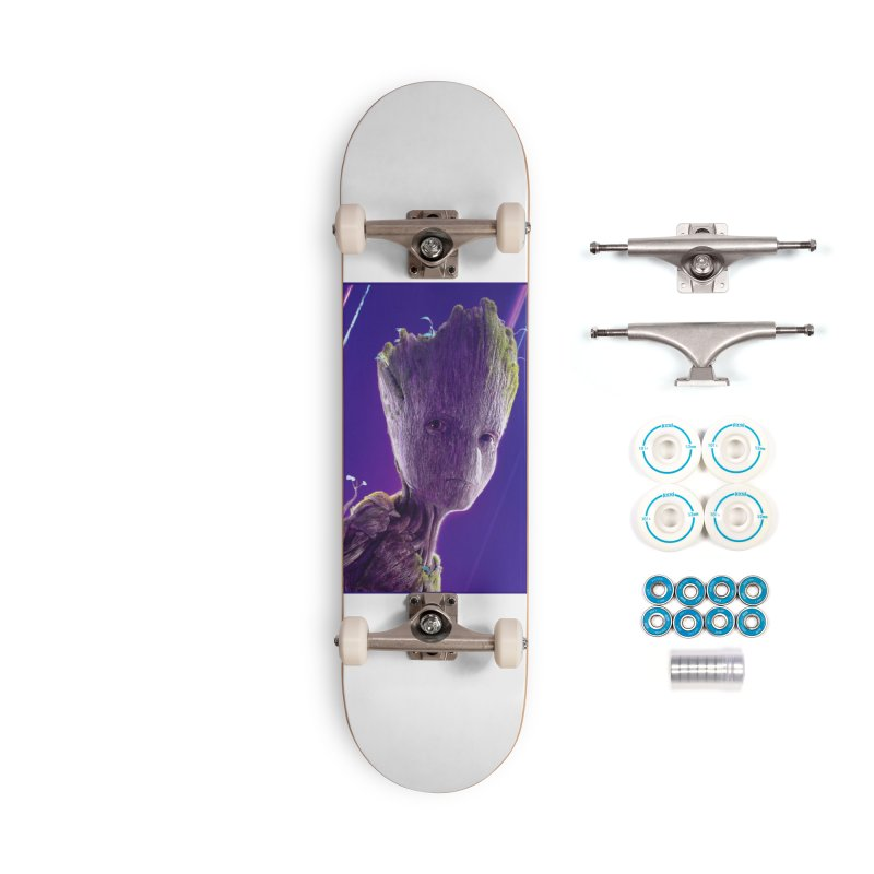 Groot (Teen) Accessories Complete - Basic Skateboard by Evolution Comics INC