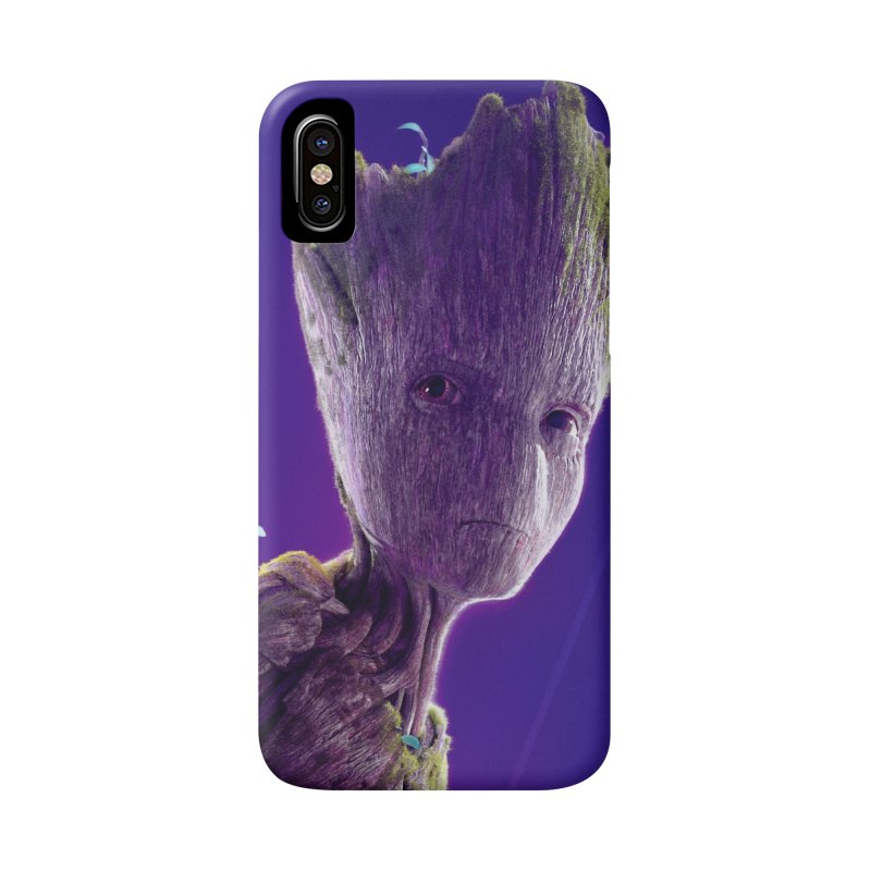 Groot (Teen) Accessories Phone Case by Evolution Comics INC