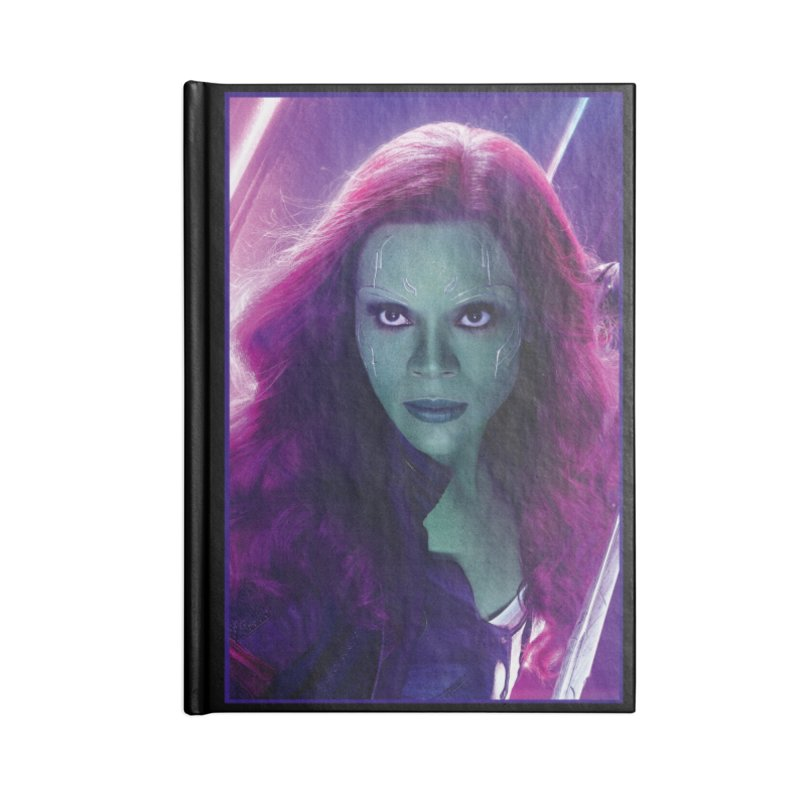 Gamora Accessories Blank Journal Notebook by Evolution Comics INC