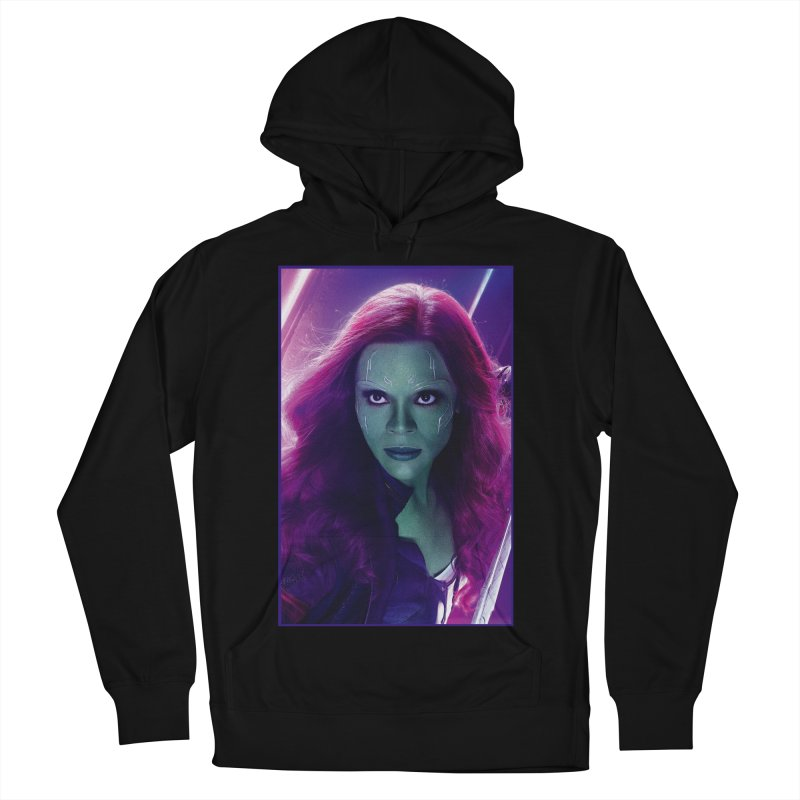 Gamora Men's French Terry Pullover Hoody by Evolution Comics INC
