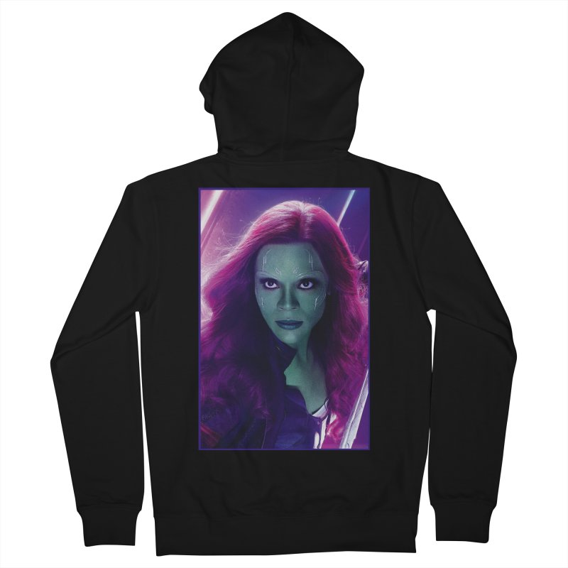 Gamora Men's French Terry Zip-Up Hoody by Evolution Comics INC