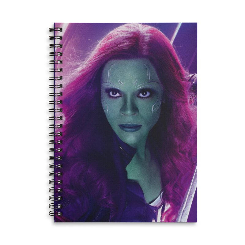 Gamora Accessories Lined Spiral Notebook by Evolution Comics INC