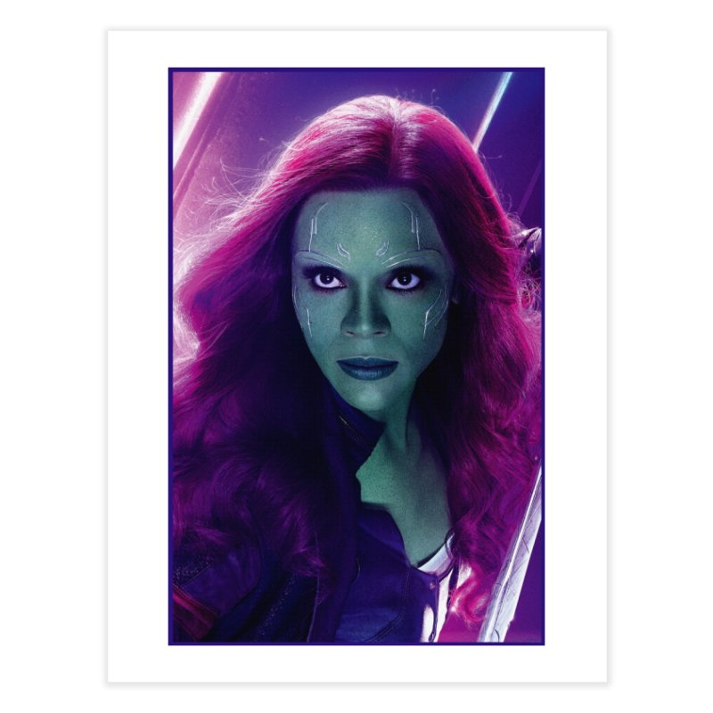 Gamora Home Fine Art Print by Evolution Comics INC