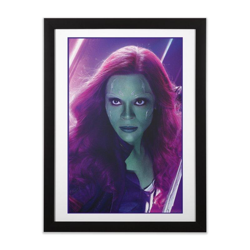Gamora Home Framed Fine Art Print by Evolution Comics INC