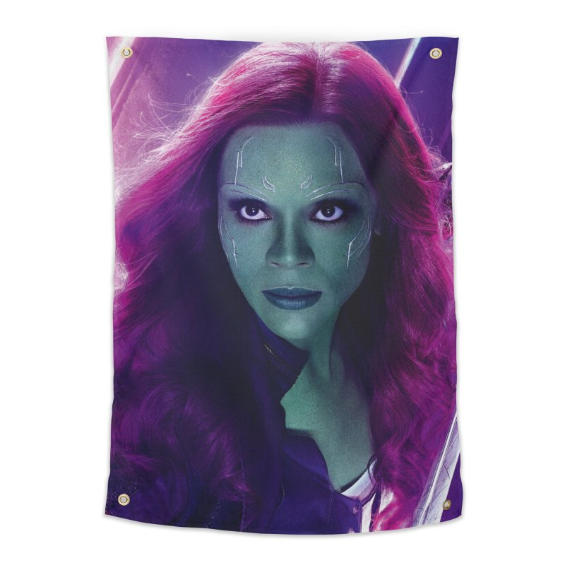 Gamora Home Tapestry by Evolution Comics INC