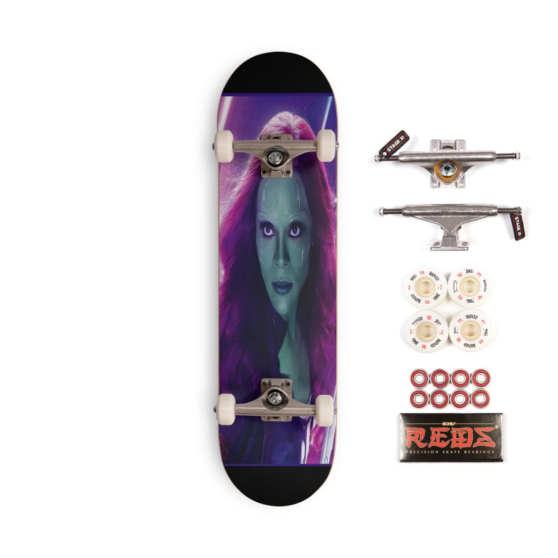 Gamora Accessories Complete - Pro Skateboard by Evolution Comics INC