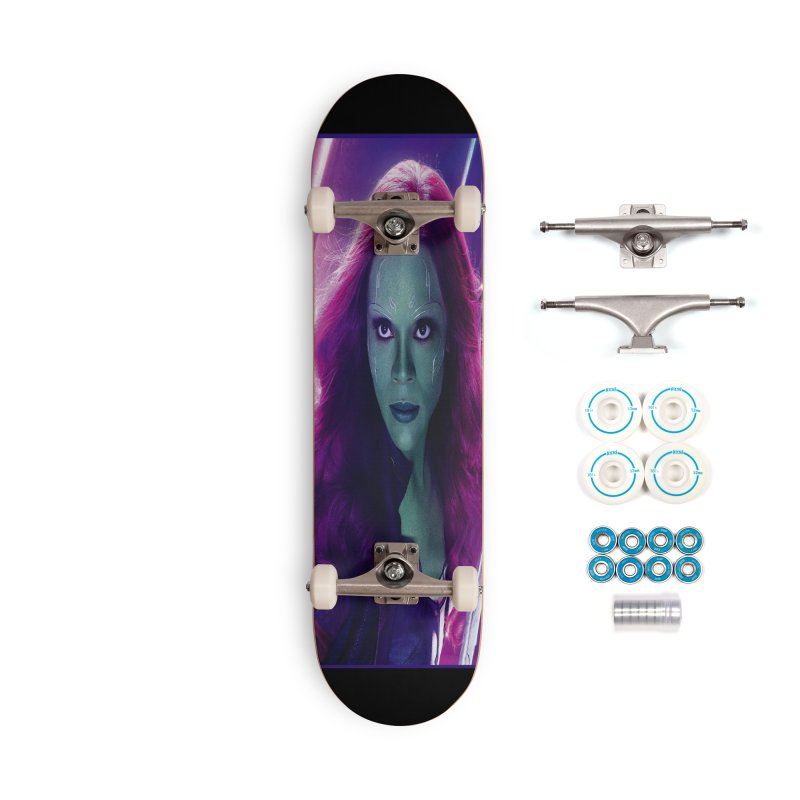 Gamora Accessories Complete - Basic Skateboard by Evolution Comics INC