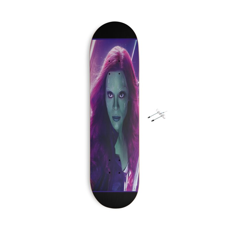 Gamora Accessories With Hanging Hardware Skateboard by Evolution Comics INC