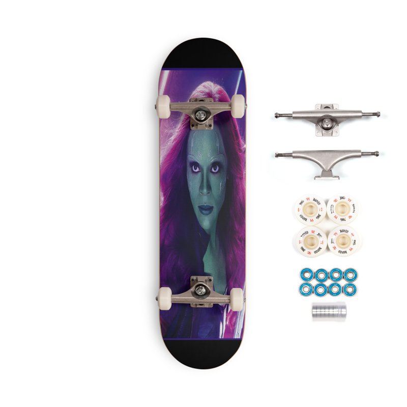 Gamora Accessories Complete - Premium Skateboard by Evolution Comics INC