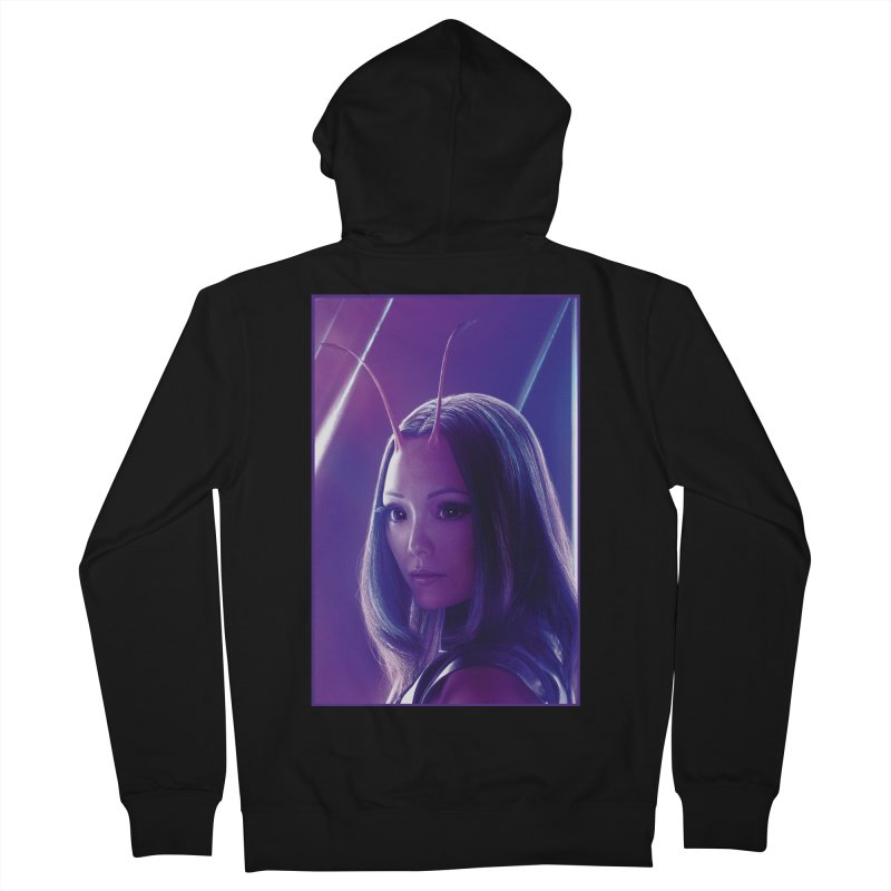 Mantis Women's French Terry Zip-Up Hoody by Evolution Comics INC