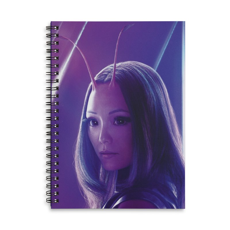 Mantis Accessories Lined Spiral Notebook by Evolution Comics INC