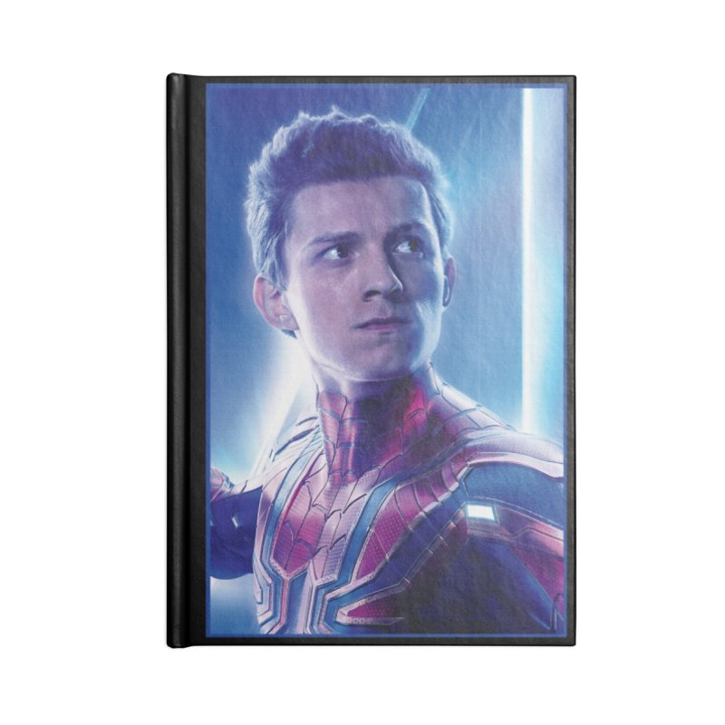 Spider-Man (Peter Parker) Accessories Blank Journal Notebook by Evolution Comics INC