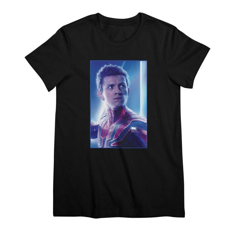Spider-Man (Peter Parker) Women's Premium T-Shirt by Evolution Comics INC