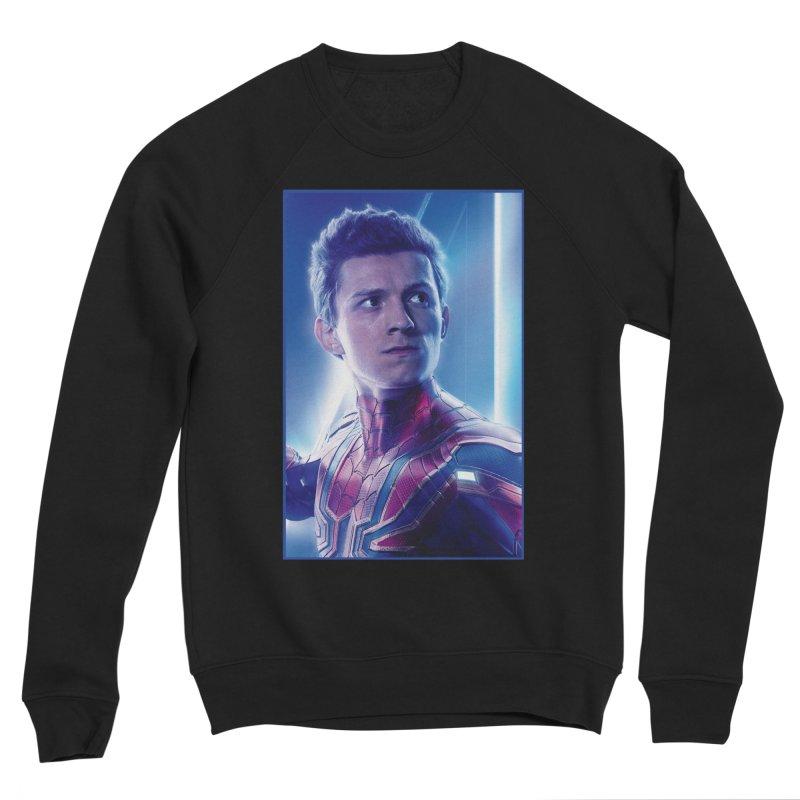 Spider-Man (Peter Parker) Men's Sponge Fleece Sweatshirt by Evolution Comics INC