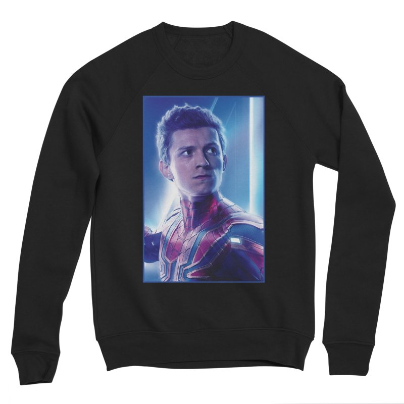 Spider-Man (Peter Parker) Women's Sponge Fleece Sweatshirt by Evolution Comics INC