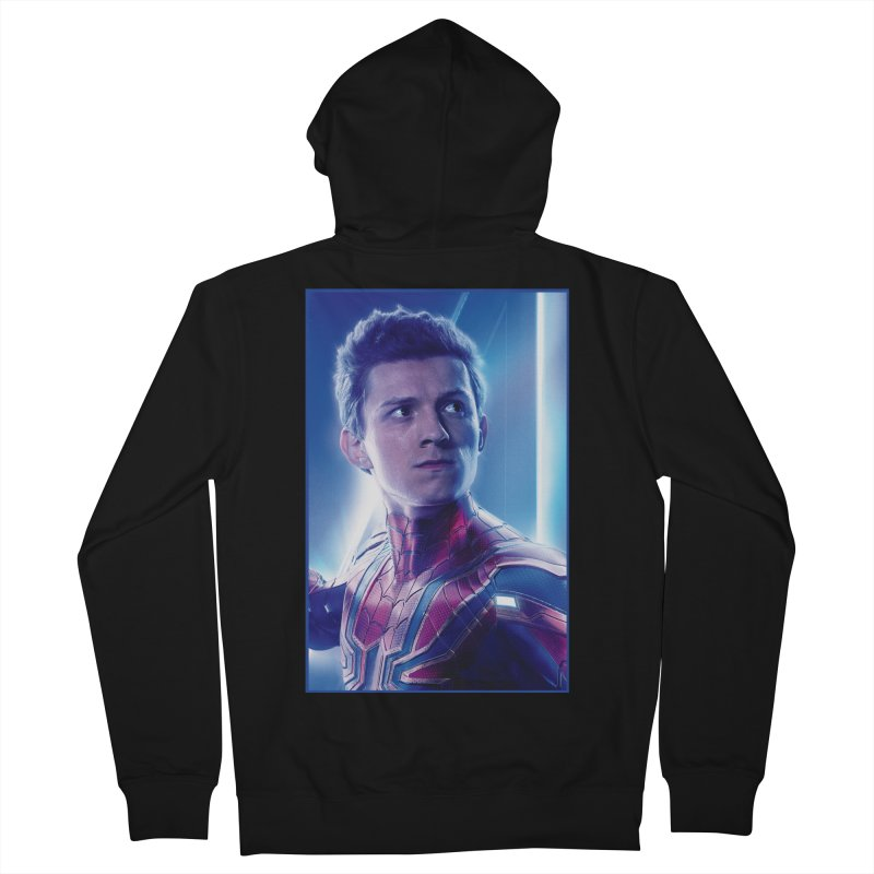 Spider-Man (Peter Parker) Women's French Terry Zip-Up Hoody by Evolution Comics INC