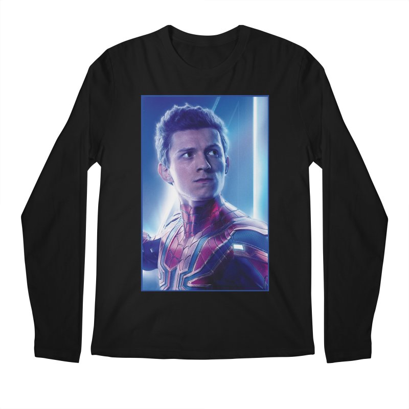 Spider-Man (Peter Parker) Men's Regular Longsleeve T-Shirt by Evolution Comics INC