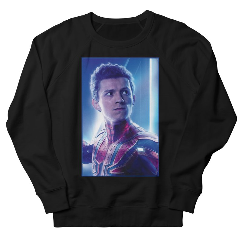 Spider-Man (Peter Parker) Women's French Terry Sweatshirt by Evolution Comics INC