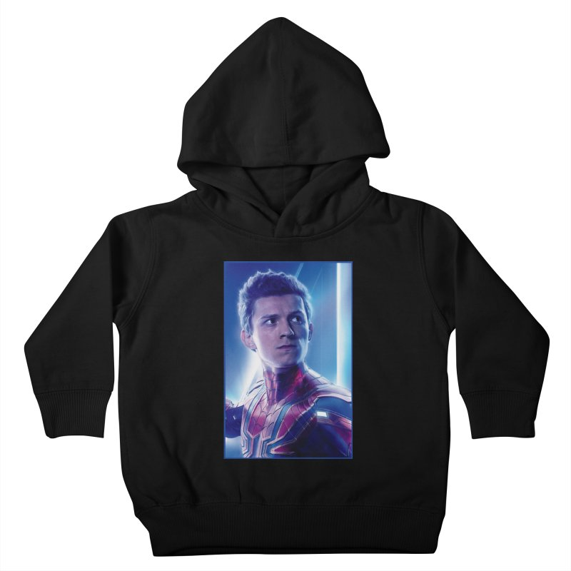 Spider-Man (Peter Parker) Kids Toddler Pullover Hoody by Evolution Comics INC