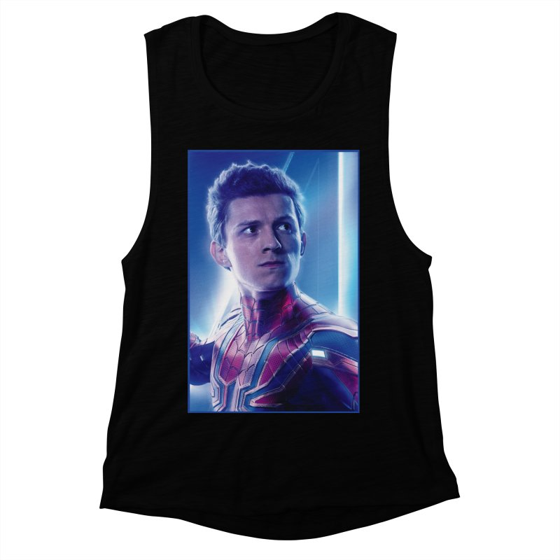 Spider-Man (Peter Parker) Women's Muscle Tank by Evolution Comics INC