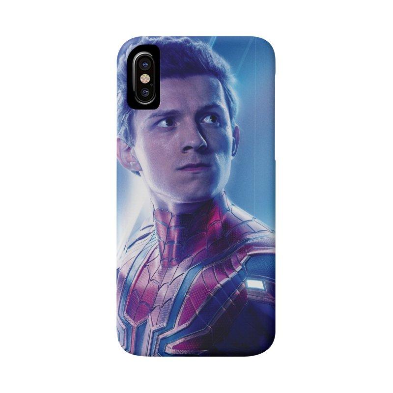 Spider-Man (Peter Parker) Accessories Phone Case by Evolution Comics INC