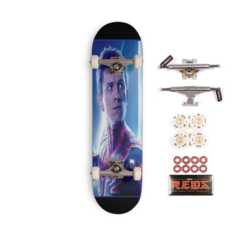 Spider-Man (Peter Parker) Accessories Complete - Pro Skateboard by Evolution Comics INC