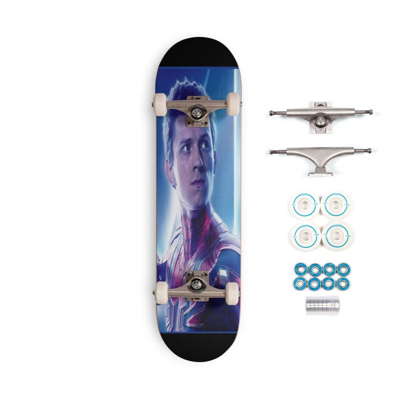 Spider-Man (Peter Parker) Accessories Complete - Basic Skateboard by Evolution Comics INC