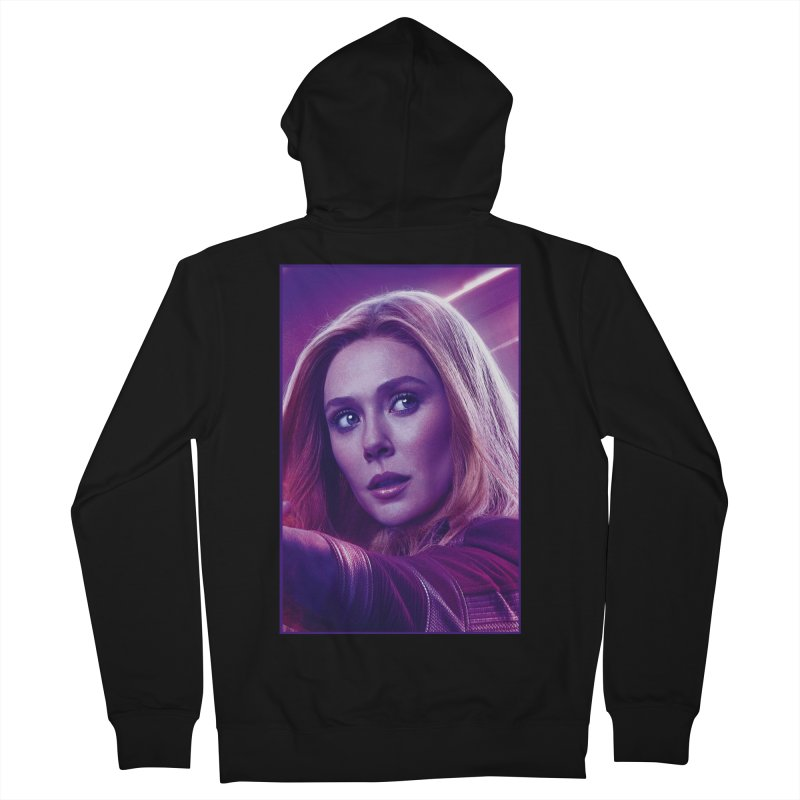 Scarlet Witch Women's French Terry Zip-Up Hoody by Evolution Comics INC