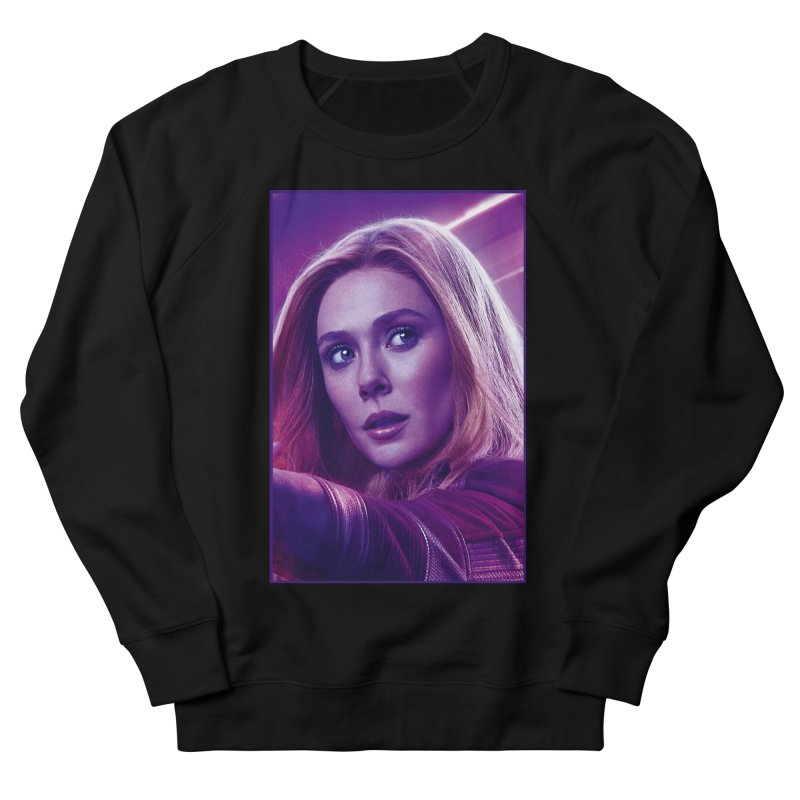 Scarlet Witch Women's French Terry Sweatshirt by Evolution Comics INC