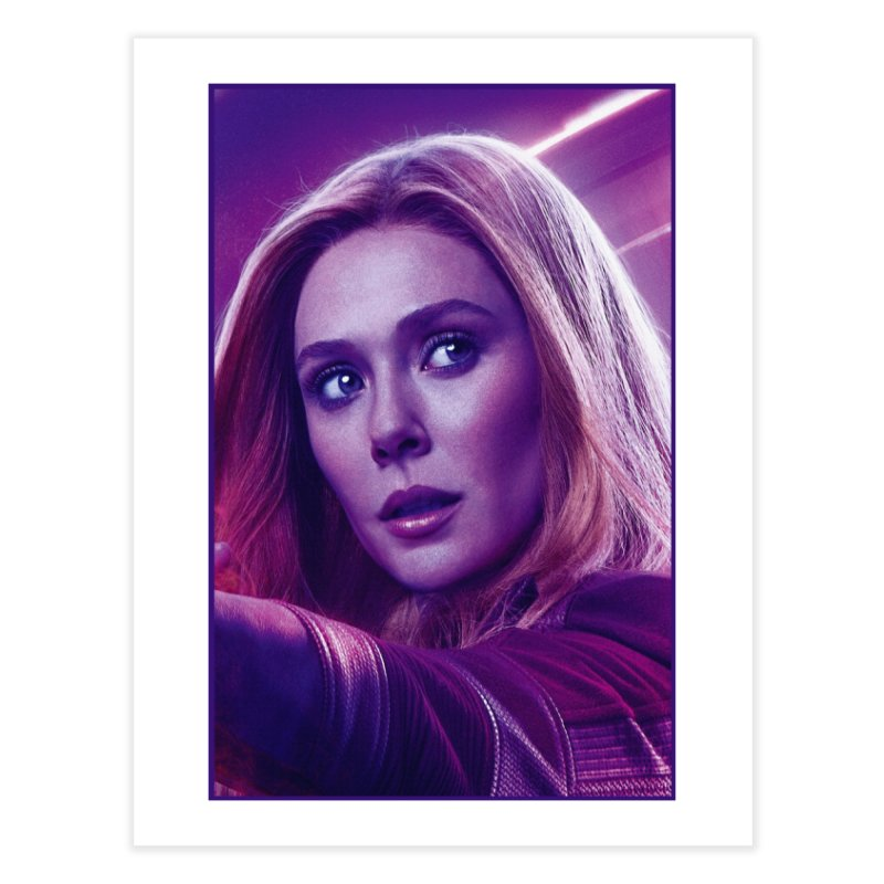 Scarlet Witch Home Fine Art Print by Evolution Comics INC