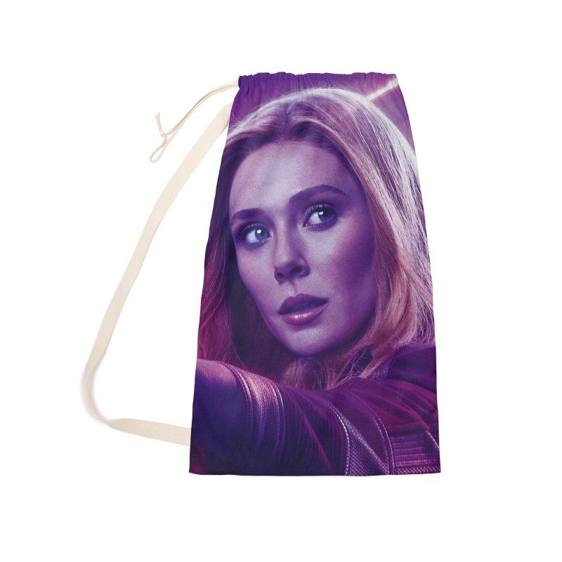 Scarlet Witch Accessories Laundry Bag Bag by Evolution Comics INC