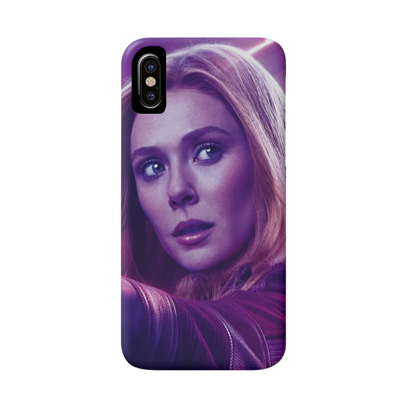 Scarlet Witch Accessories Phone Case by Evolution Comics INC