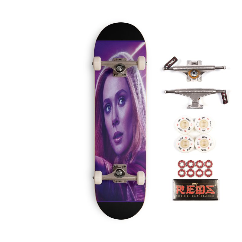 Scarlet Witch Accessories Complete - Pro Skateboard by Evolution Comics INC