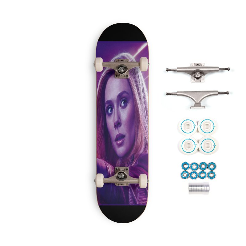 Scarlet Witch Accessories Complete - Basic Skateboard by Evolution Comics INC