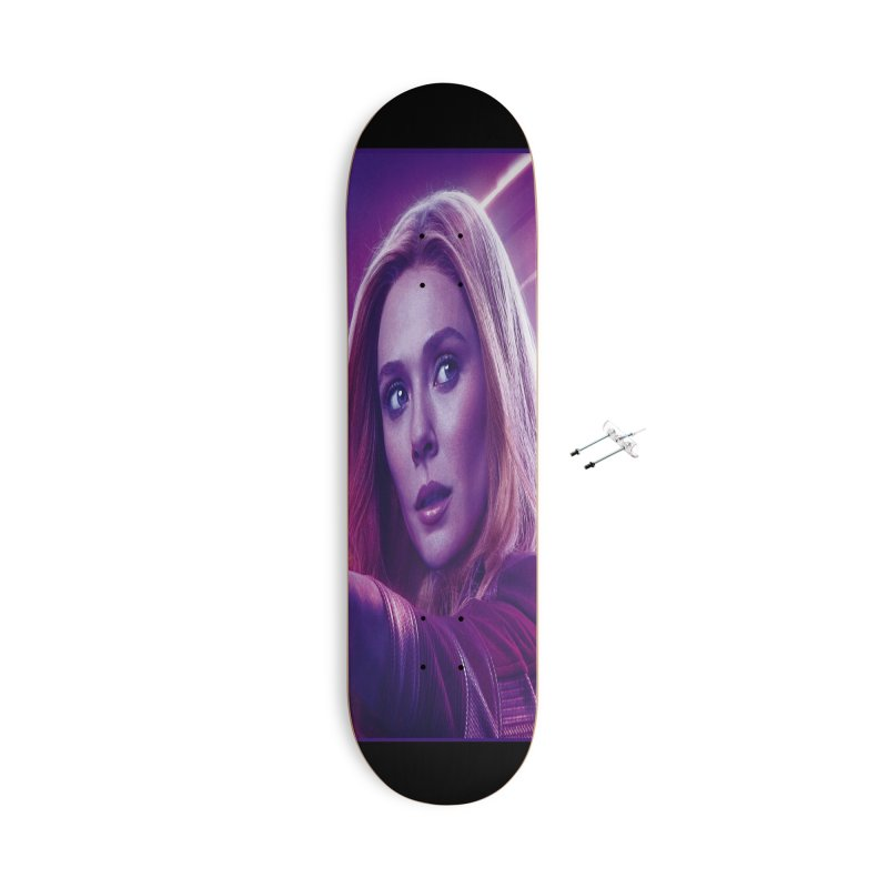 Scarlet Witch Accessories With Hanging Hardware Skateboard by Evolution Comics INC