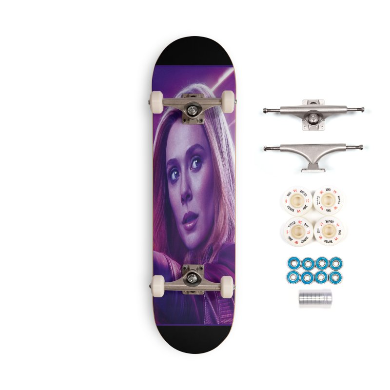 Scarlet Witch Accessories Complete - Premium Skateboard by Evolution Comics INC