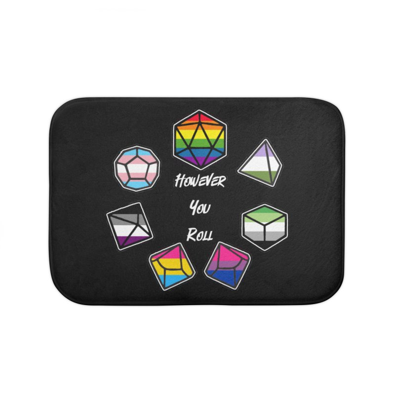However You Roll Home Bath Mat by ExcelsiorGames's Artist Shop