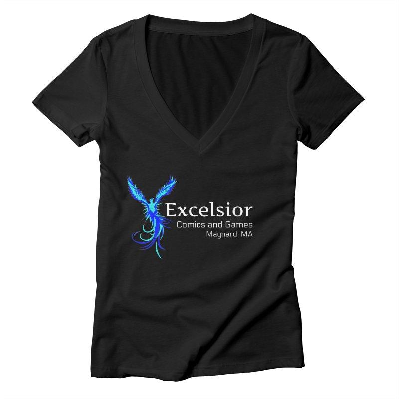 Basic Shirt Redux Women's V-Neck by ExcelsiorGames's Artist Shop