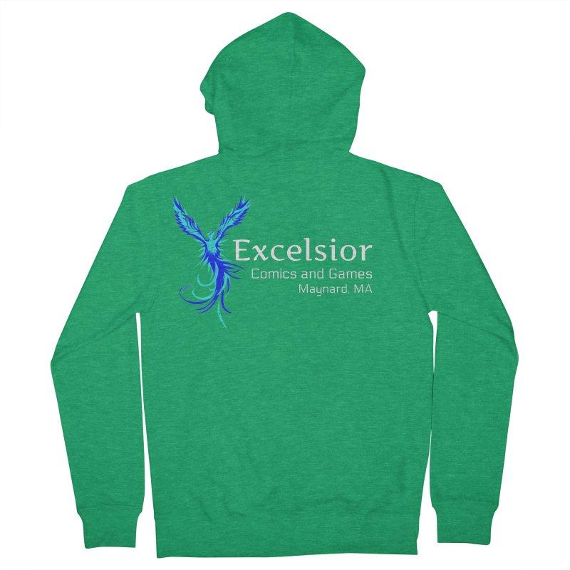 Basic Shirt Redux Men's Zip-Up Hoody by ExcelsiorGames's Artist Shop