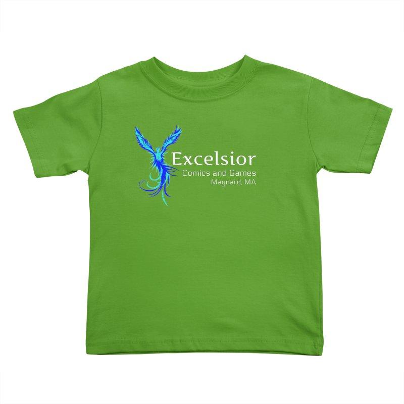 Basic Shirt Redux Kids Toddler T-Shirt by ExcelsiorGames's Artist Shop