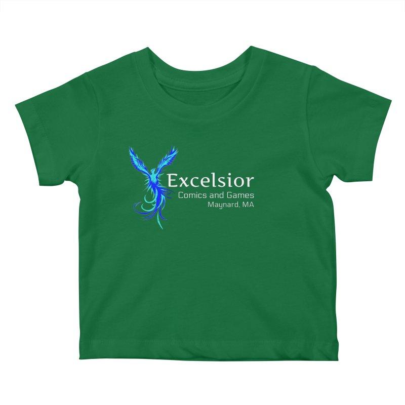 Basic Shirt Redux Kids Baby T-Shirt by ExcelsiorGames's Artist Shop